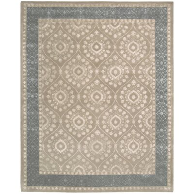 Channing Taupe Area Rug Rug Size: 76 x 96