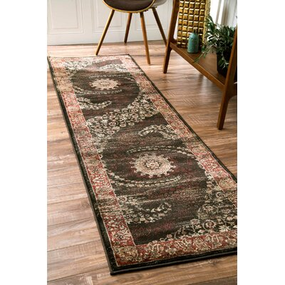 Chatham Brown Area Rug Rug Size: Runner 25 x 8