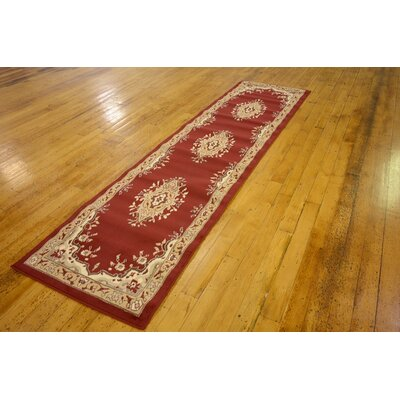 Charlie Red Area Rug