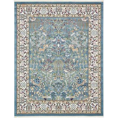 Jackson Blue Area Rug Rug Size: 8' x 10'