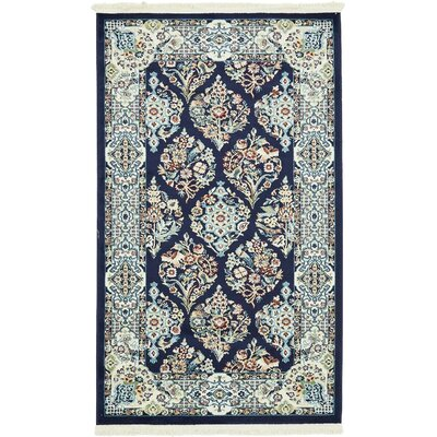 Jackson Navy Blue Area Rug