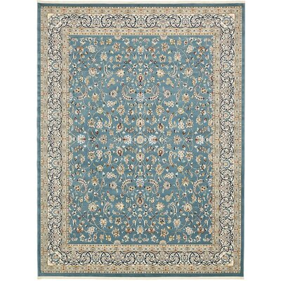 Jackson Blue Area Rug Rug Size: Rectangle 10 x 13