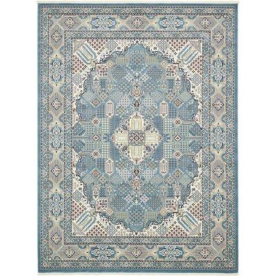 Jackson Blue Area Rug Rug Size: 10 x 13