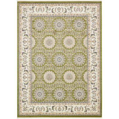 Jackson Green Area Rug Rug Size: Rectangle 10 x 13