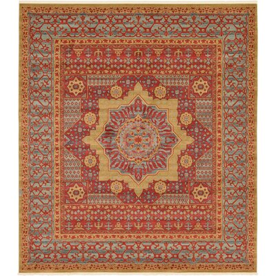 Laurelwood Red Area Rug Rug Size: 10' x 11' 4