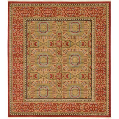 Laurelwood Red Area Rug Rug Size: 10 x 114