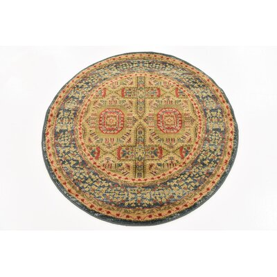 Laurelwood Area Rug Rug Size: Round 33