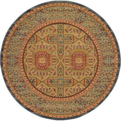 Laurelwood Area Rug Rug Size: Round 6