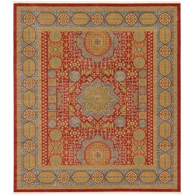 Laurelwood Light Red Area Rug Rug Size: Rectangle 10 x 114