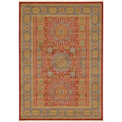 Laurelwood Light Red Area Rug Rug Size: 7' x 10'