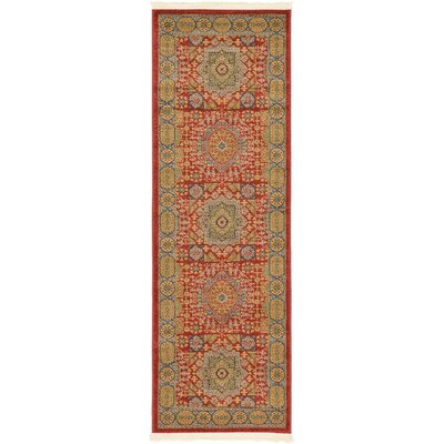 Laurelwood Light Red Area Rug Rug Size: Runner 2' x 6'