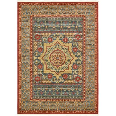 Laurelwood Navy Blue Area Rug Rug Size: 8 x 11