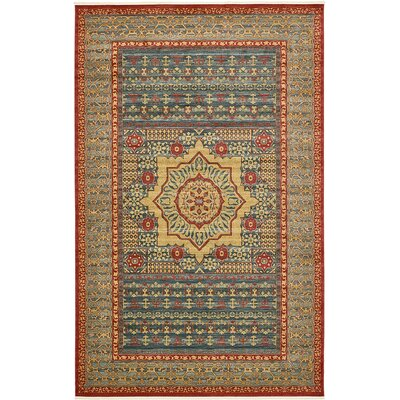 Laurelwood Navy Blue Area Rug Rug Size: 106 x 165