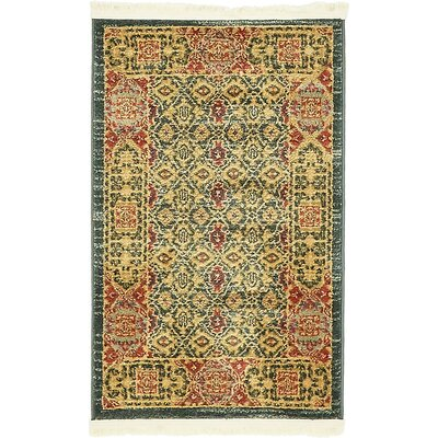 Laurelwood Brown Area Rug Rug Size: Round 6'