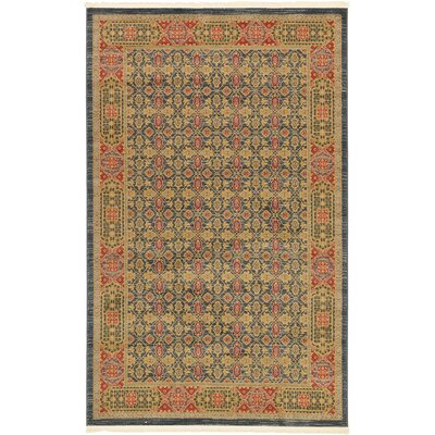 Laurelwood Brown Area Rug Rug Size: Rectangle 5 x 8