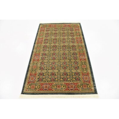 Laurelwood Brown Area Rug Rug Size: 33 x 53
