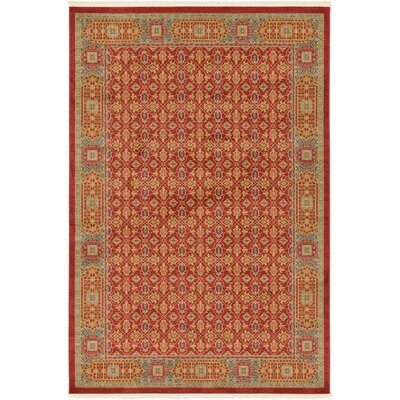 Laurelwood Red Area Rug Rug Size: 2 x 3