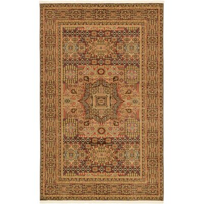 Laurelwood Brown Area Rug Rug Size: 5' x 8'