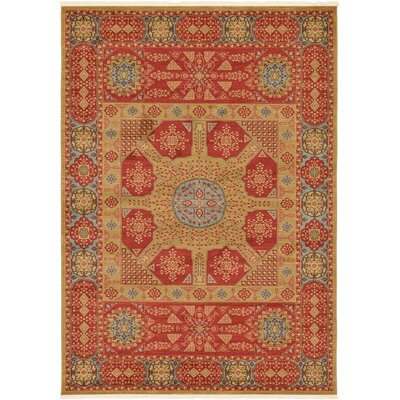 Laurelwood Red Area Rug Rug Size: 7' x 10'
