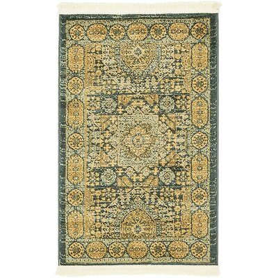 Laurelwood Brown Area Rug Rug Size: 2' x 3'