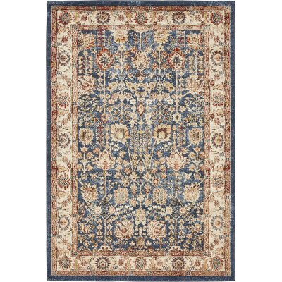 Nathanson Light Blue Area Rug