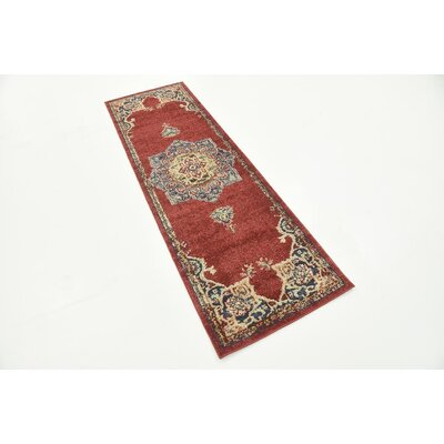 Nathanson Terracotta Area Rug Rug Size: 9 x 12