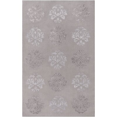 Astoria Grand Barnes Hand-Tufted Medium Gray Area Rug