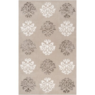Mackenzie Hand-Woven Natural Area Rug Rug Size: Rectangle 5 x 8