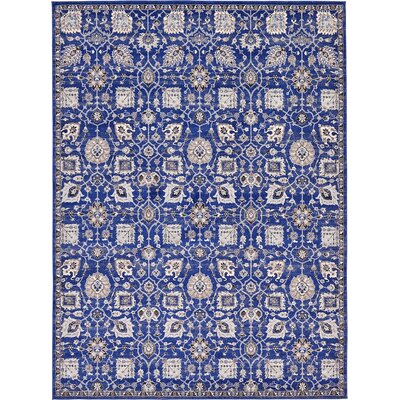 Drumsill Blue Area Rug Rug Size: 9' x 12'