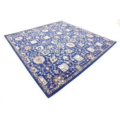 Drumsill Blue Area Rug Rug Size: Square 8'4
