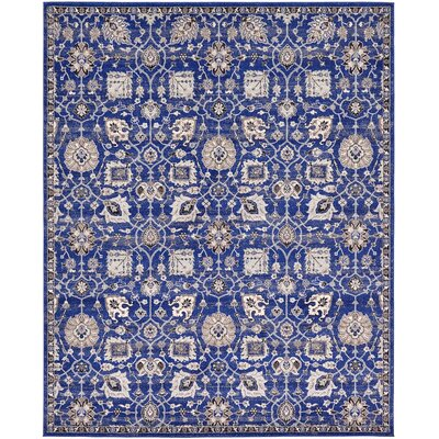 Drumsill Blue Area Rug Rug Size: 8' x 10'