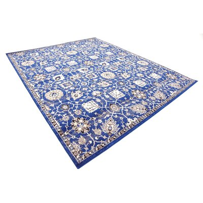 Drumsill Blue Area Rug Rug Size: Rectangle 8 x 10