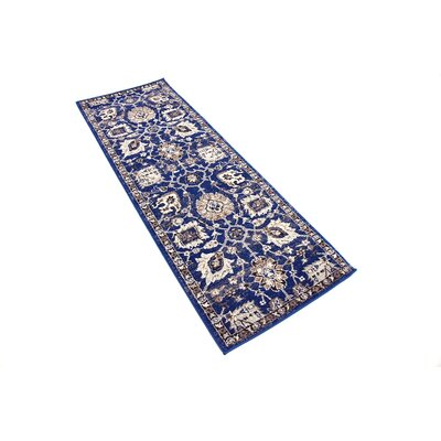 Drumsill Blue Area Rug Rug Size: Runner 22 x 6
