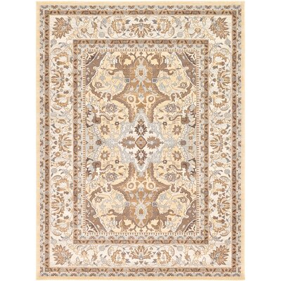 Edicott Cream Area Rug Rug Size: Rectangle 84 x 84