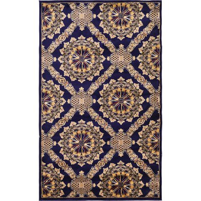 Marmont Navy Blue Area Rug Rug Size: 5' x 8'