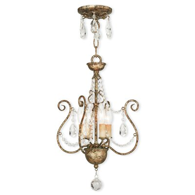 Charley 4-Light Crystal Chandelier