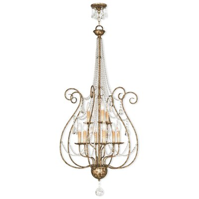 Charley 9-Light Crystal Chandelier