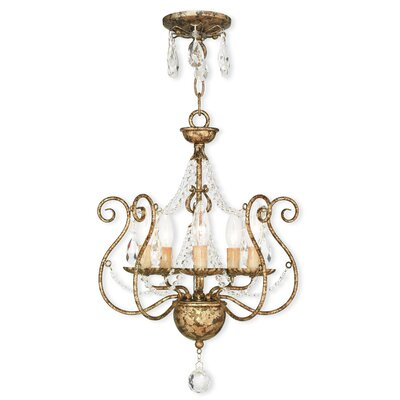Charley 5-Light Crystal Chandelier
