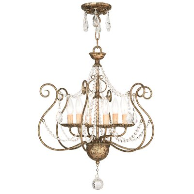 Charley 6-Light Crystal Chandelier