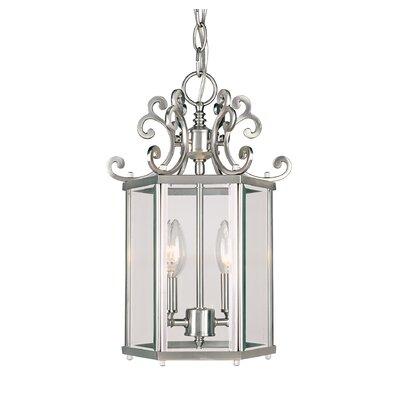 Eaton 2-Light Foyer Pendant