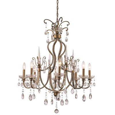 Blandford 8-Light Crystal Chandelier