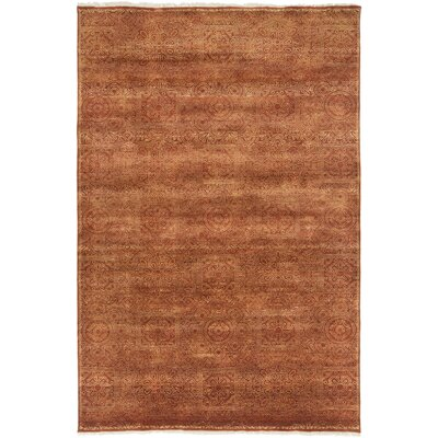 Barrand Rust/Taupe Area Rug Rug Size: Rectangle 36 x 56