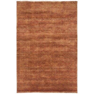 Barrand Rust/Taupe Area Rug Rug Size: 5'6