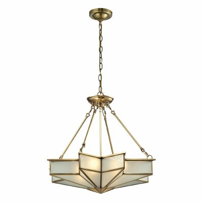 Serbelloni 4-Light Inverted Pendant