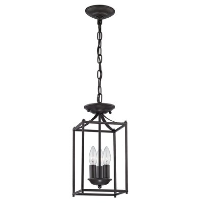 Barryton 3-Light Foyer Pendant Color: Brushed Nickel