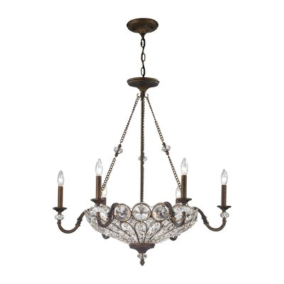 Elberta 9-Light Crystal Chandelier