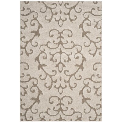 Barnicle Cream/Beige Area Rug