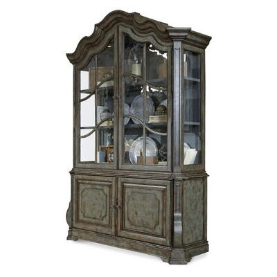 Sofitel China Cabinet Finish: Patina Bleu