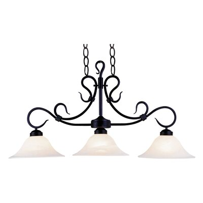 Miramontes 3-Light Kitchen Island Pendant