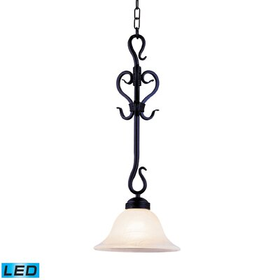 Miramontes 1-Light Bowl Pendant